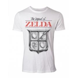 T-shirt The Legend of Zelda - Game Cover Compressed Tamanho L