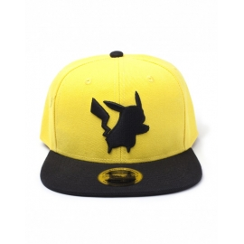 Boné Pokémon Pikachu Yellow Silohuette