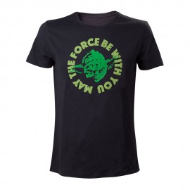 T-shirt Star Wars May The Force Be With You Tamanho S