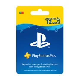 PlayStation Plus - Subscrição 365 dias (12 Meses) - (Cartão Fisico)