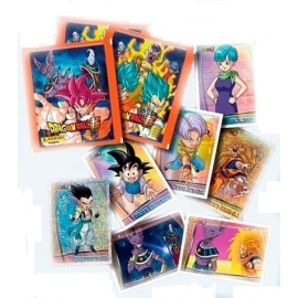 Saqueta de 5 Cromos Dragon Ball Z Super