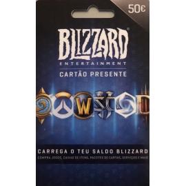 Cartão Blizzard Battle.net 50 Euros (Digital) - (Envio por Email)
