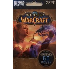 Cartão World of Warcraft 60 Dias de Jogo (Digital) - (Envio por Email)