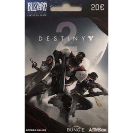 Cartão Presente Blizzard - Destiny 2 - 20 Euros