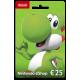 Cartão Nintendo eShop 25 Euros (Físico)