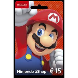 Cartão Nintendo eShop 15 Euros (Digital) - (Envio por Email)