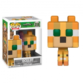 POP! Vinyl Games: Minecraft Ocelot 318