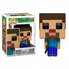 POP! Vinyl Games: Minecraft Steve 316