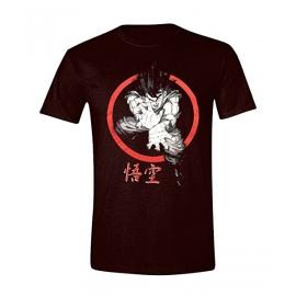 T-Shirt Dragon Ball Z Goku Kamehameha Tamanho S