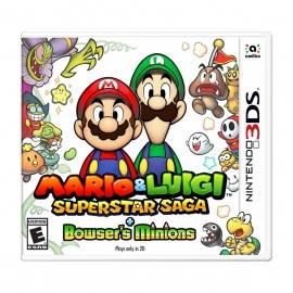 Mario & Luigi Superstar Saga + Bowsers Minions - 3DS (Nintendo Digital)