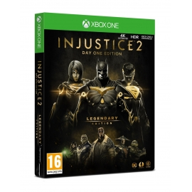 Injustice 2 Legendary Day One Edition PS4