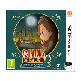 Layton's Mystery Journey: Katrielle and the Millionaires' Conspiracy - 3DS (Nintendo Digital)