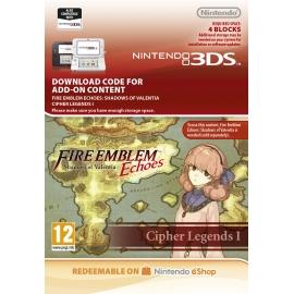 Fire Emblem Echoes: Shadows of Valentia: Cipher Legends I (DLC) - 3DS (Nintendo Digital)