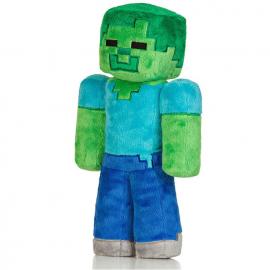Peluche Minecraft Zombie 30 cm