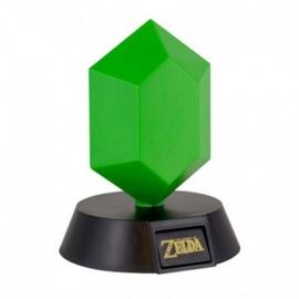 Candeeiro The Legend of Zelda 3D Green Rupee