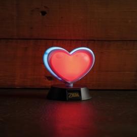 Candeeiro The Legend of Zelda 3D Heart Container