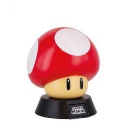Candeeiro Nintendo Super Mario 3D Mushroom