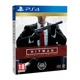 Hitman Definitive Edition - Steelbook Edition PS4