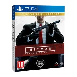 Hitman Definitive Edition - Steelbook Edition PS4