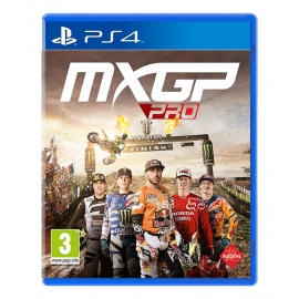 MXGP Pro - The Official Motocross Videogame PS4