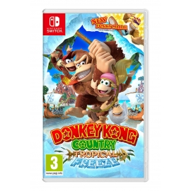 Donkey Kong Country: Tropical Freeze (Seminovo) Switch
