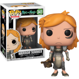 POP! Vinyl Animation: Rick & Morty Warrior Summer 341