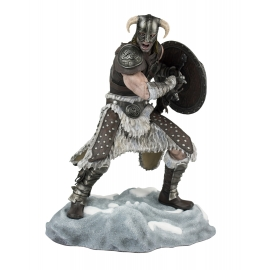 Estátua The Elder Scrolls V: Skyrim Dragonborn 24cm