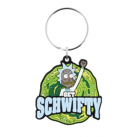 Porta-chaves Rick & Morty - Get Schwifty