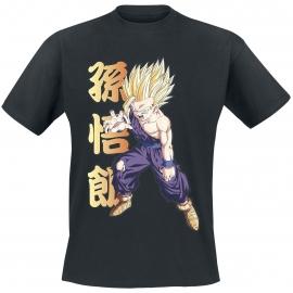 T-shirt Dragon Ball Z Gohan - Tamanho S