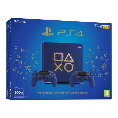 Consola PS4 Slim 500GB + Dualshock 4 Extra - Edição Limitada Days of Play