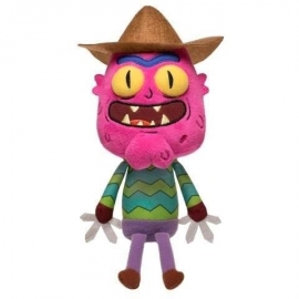 Peluche Galatic Rick and Morty Scary Terry