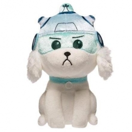 Peluche Galatic Rick and Morty Snowball