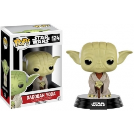 POP! Bobble-Head: Star Wars Dagobah Yoda 124