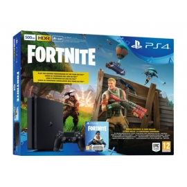 Consola PS4 Slim 500GB + Jogo Fortnite