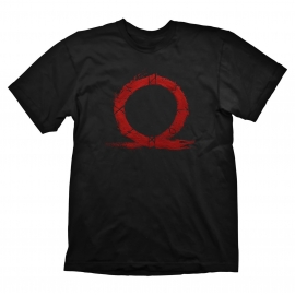 T-shirt God of War Serpent Logo - Tamanho S