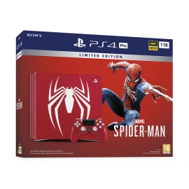 Consola PS4 Pro 1TB Edição Limitada Marvel's Spider-Man