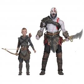 Action Figure Kratos & Atreus God Of War
