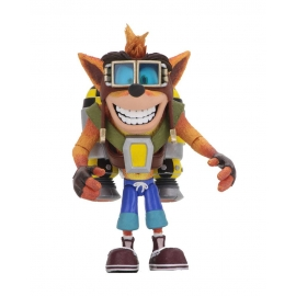 Action Figure Crash Bandicoot With Jetpack