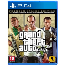 Gran Theft Auto 5 - Premium Edition PS4
