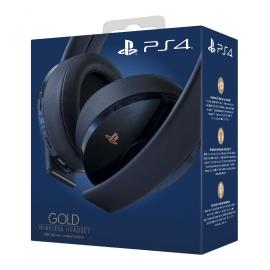 Headset Wireless Gold PS4 - Edição Especial 500 Milhões