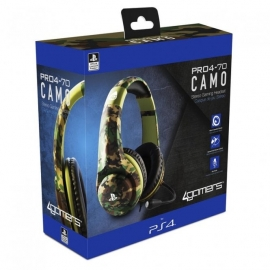 Auscultadores Gaming 4Gamers Stereo PRO4-70 Camo
