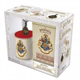 Pack Harry Potter: Caneca + Porta-chaves + Caderno