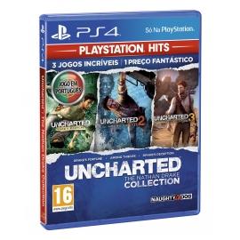 Uncharted Collection - Playstation Hits (Em Português) PS4