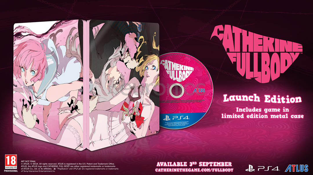 Catherine Full Body - Launch Edition PS4
