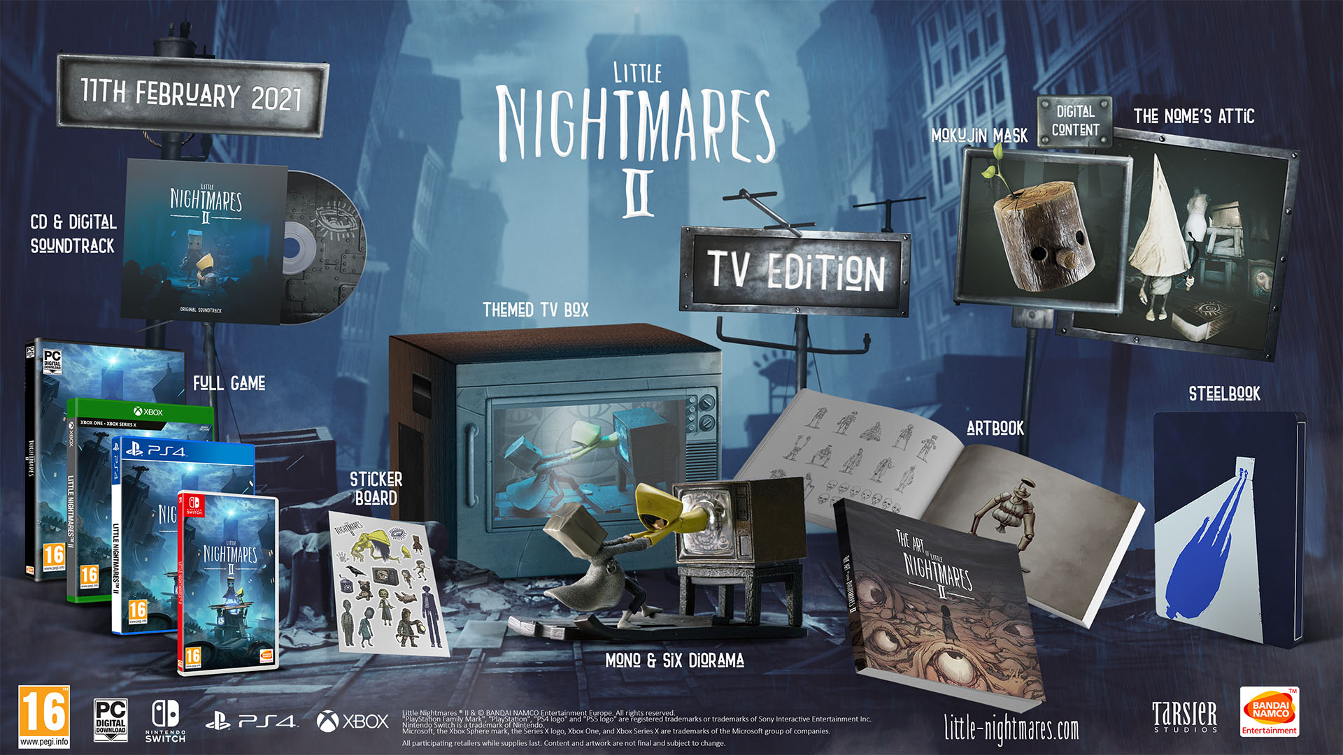 Little Nightmares II - TV Edition PS4.jp