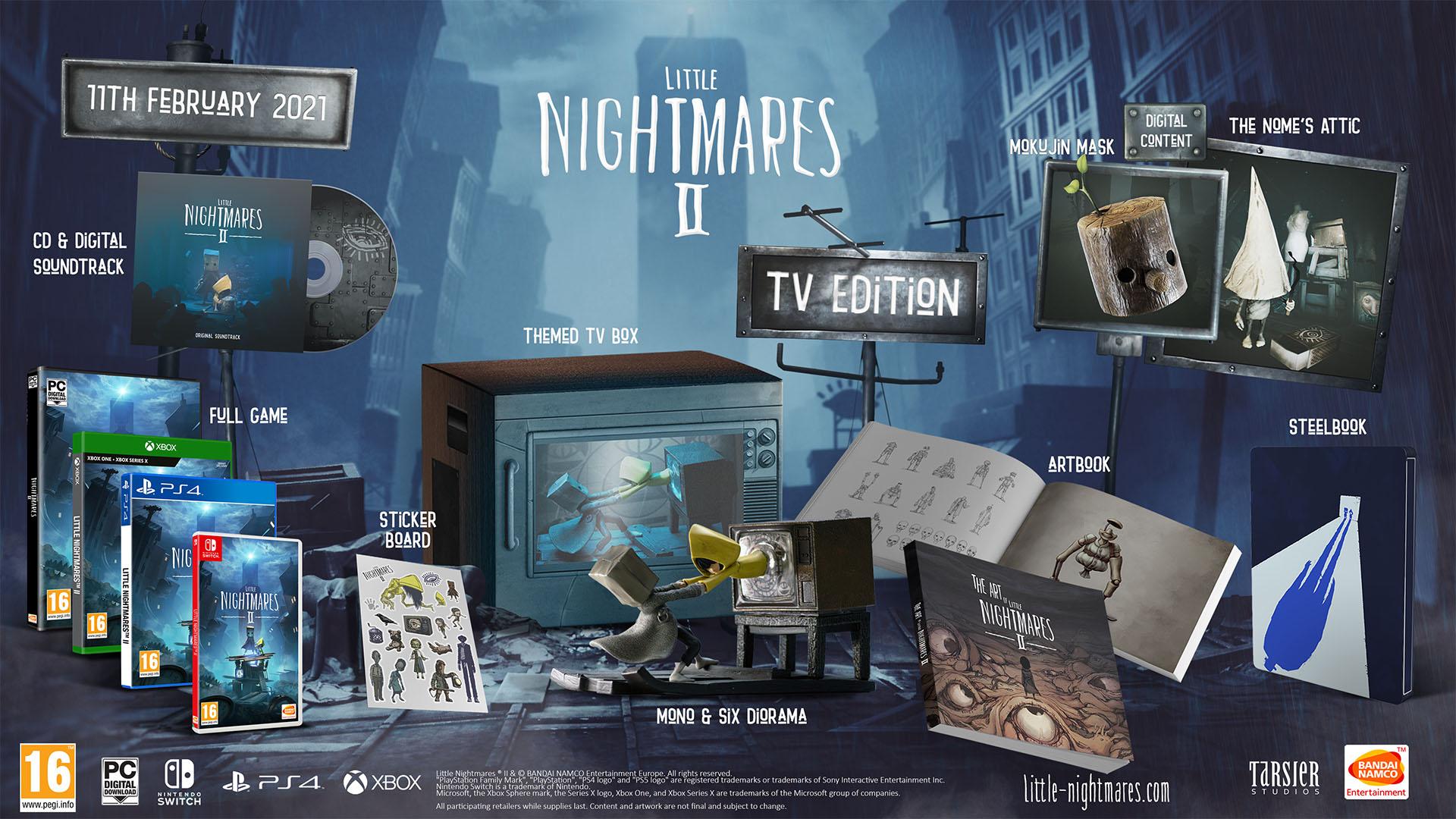 Little Nightmares II - TV Edition PS4.jp