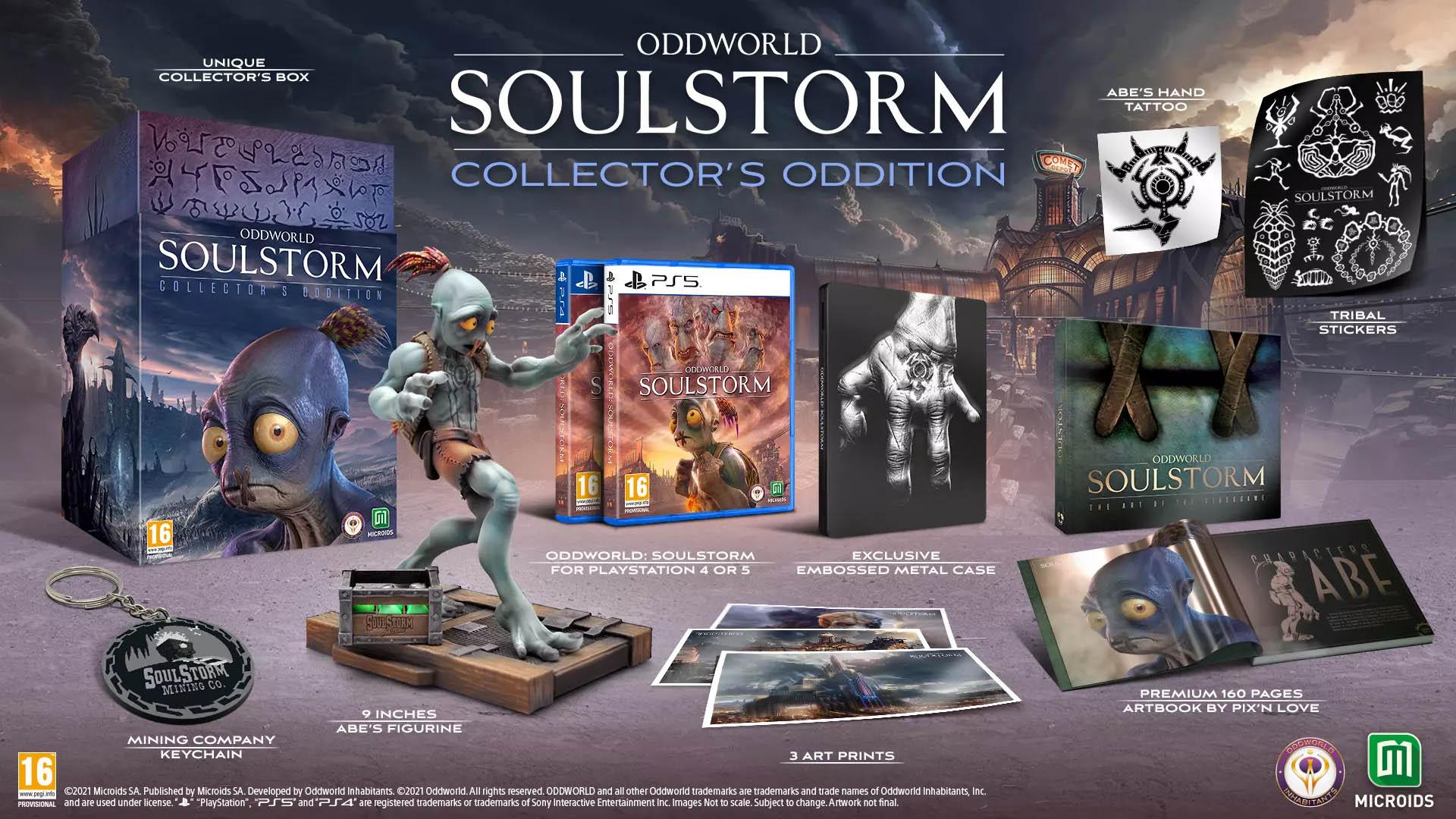 Oddworld Soulstorm - Collectors Edition