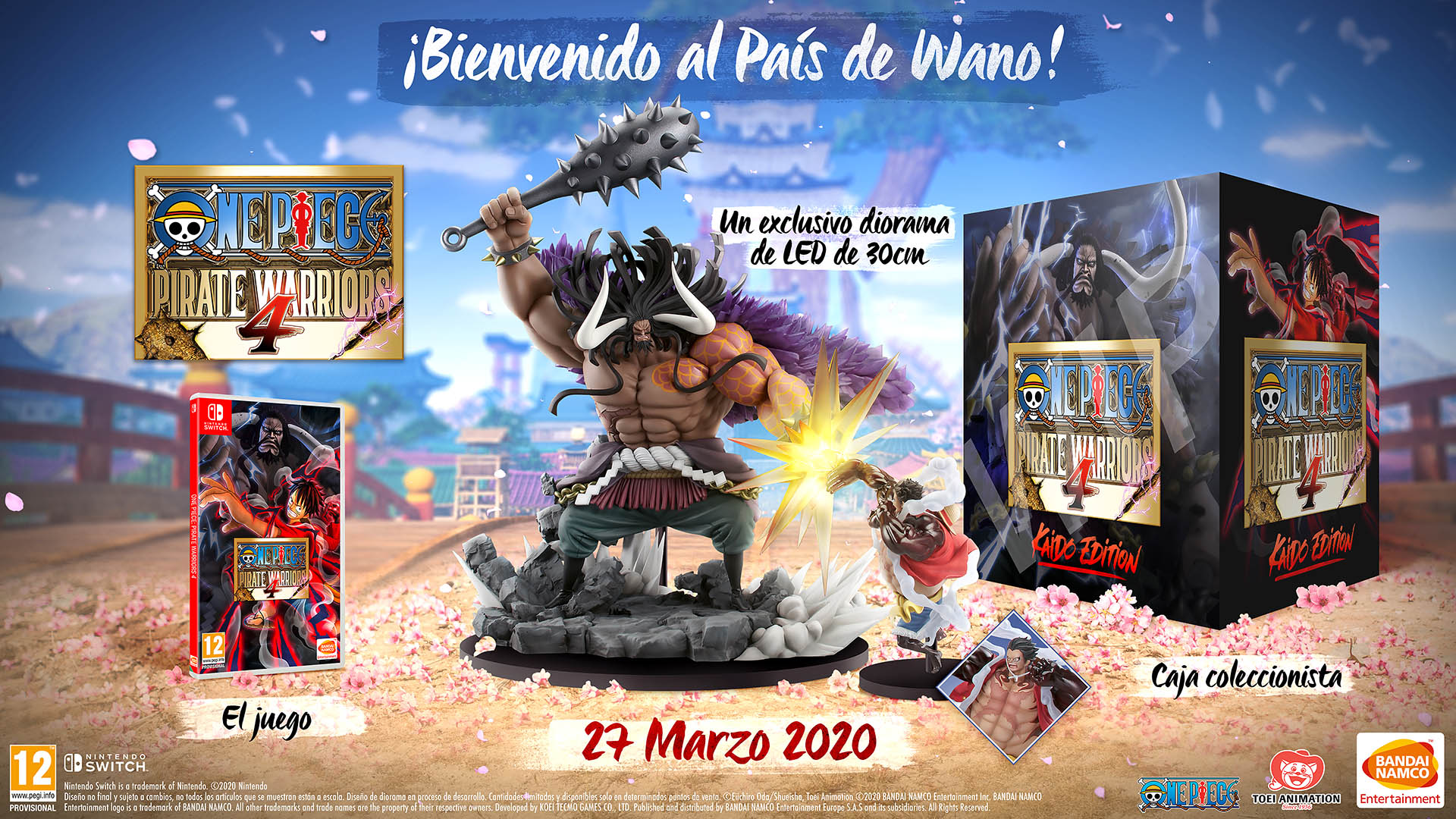 One Piece Pirate Warriors 4 Switch Colle