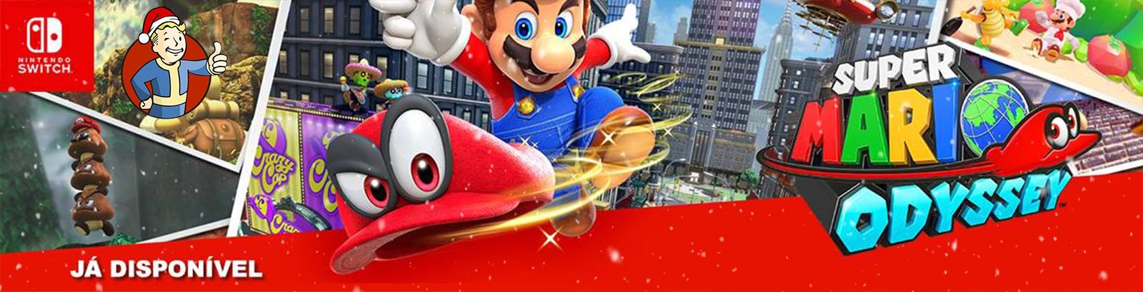 Super Mario Odyssey - Já Disponível