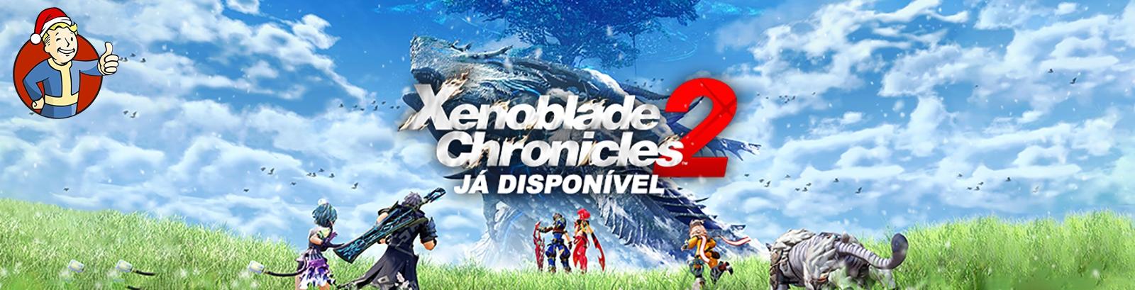 Xenoblade Chronicles 2 - Já Dipsonível